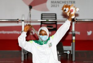 Tokyo Paralympics: Ogun State Born Tijani Latifat Delivers Nigeria's First Gold Medal