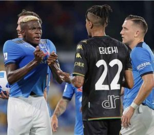 Napoli To Appeal Osimhen's Two Game Suspension