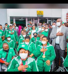 One Sports Minister, 19 Medals in Six Weeks- Sunday Dare Marches On